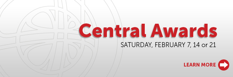 Join us for Central Awards in February