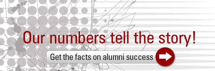 Our numbers tell the story: Get the facts on alumni success!