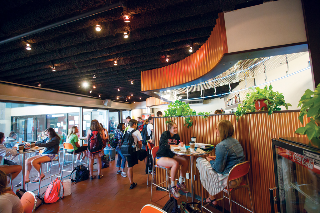 The Cafe at Geisler is one of the dining options available on the Central College campus.