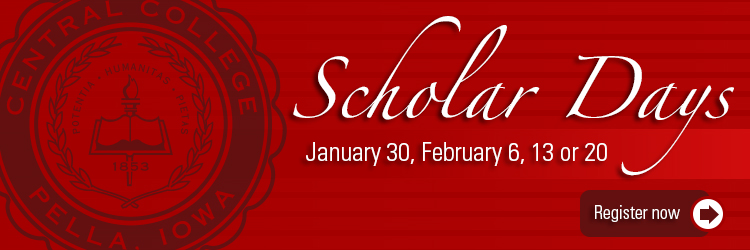 Join us for Scholar Days! Jan. 30, Feb 6, 13, or 20
