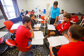 Central College Exercise Science students